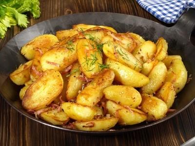 Pommes grenailles en persillade - Comment cuisiner les pommes de terre grenaille ...